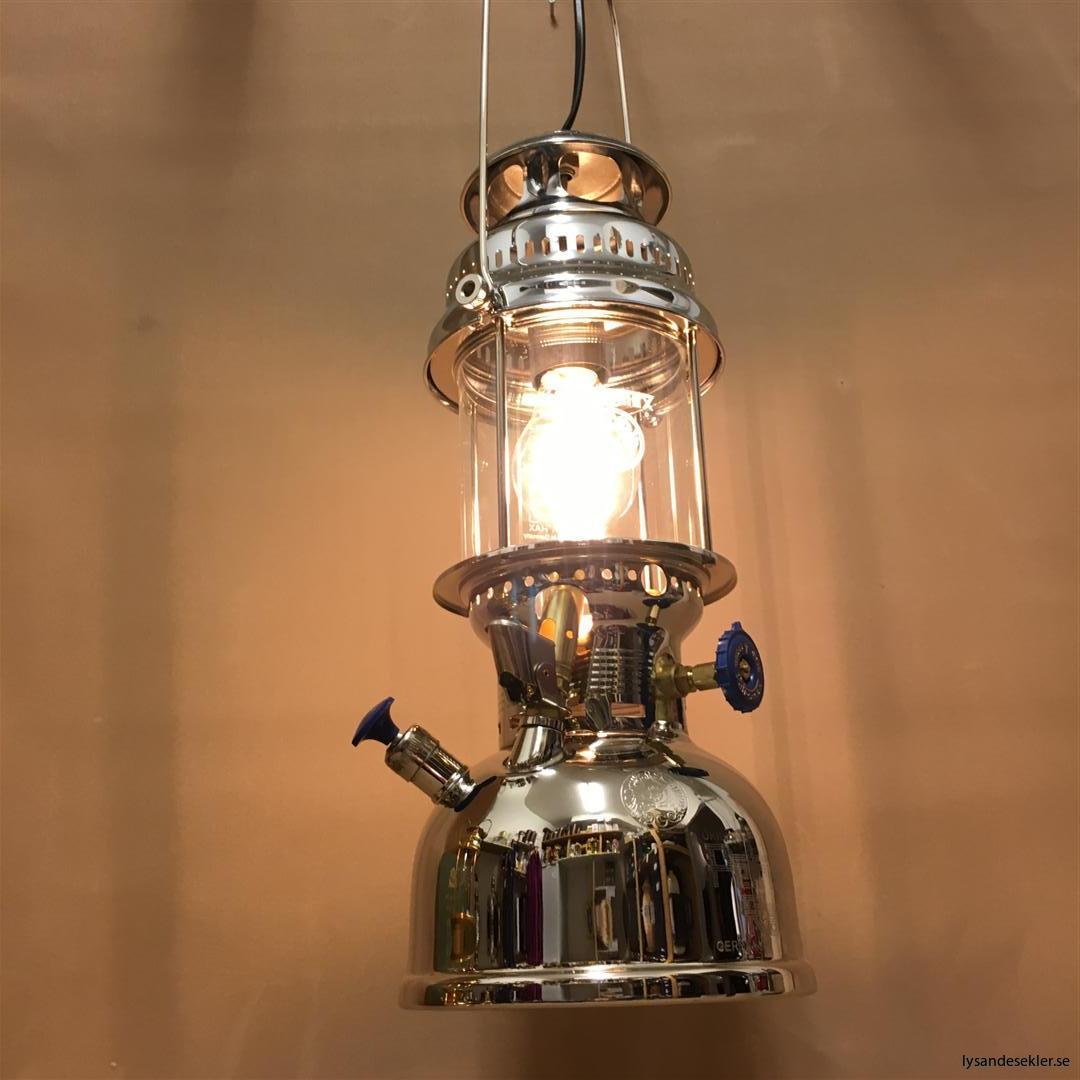 petromax rapid mässing krom elektrisk elektrifierad bordslampa taklampa (51)