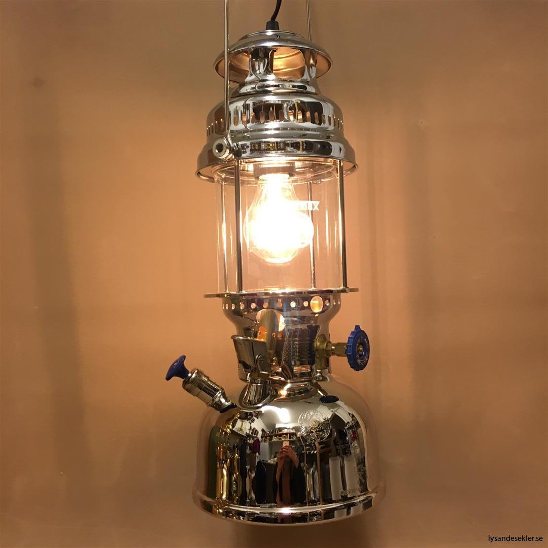 petromax rapid mässing krom elektrisk elektrifierad bordslampa taklampa (52)