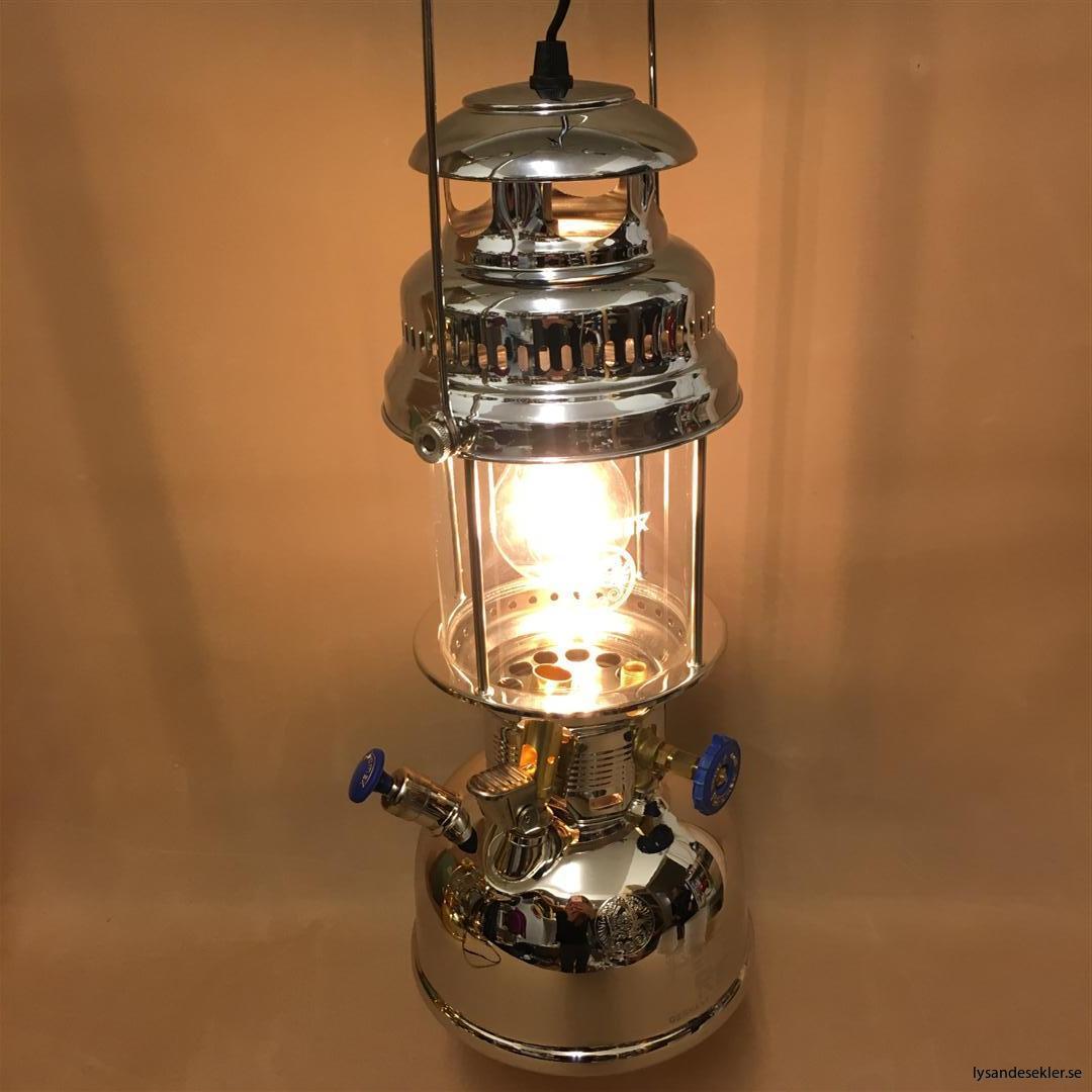 petromax rapid mässing krom elektrisk elektrifierad bordslampa taklampa (53)