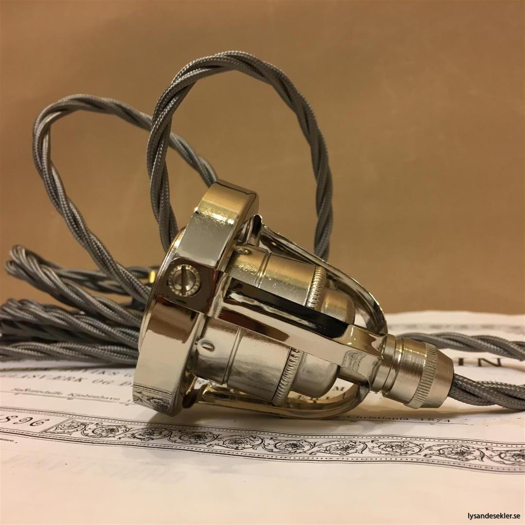 sladdupphäng med klofattning tre 3 skruvar lampa (7)