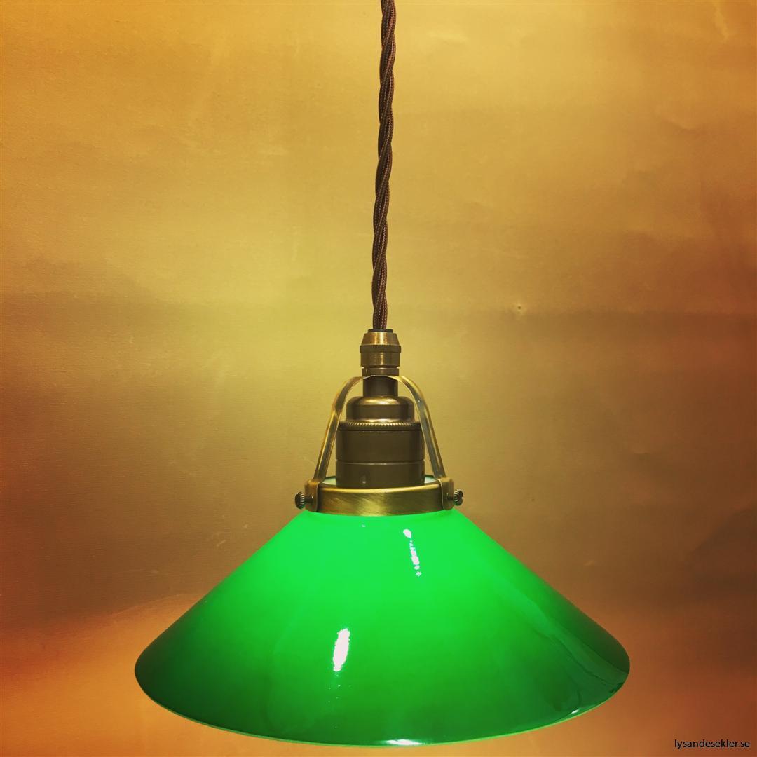grön skomakarskärm mörkgrön skomakarelampa