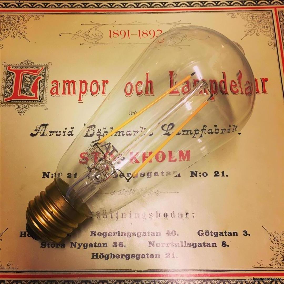glödlampor LED koltråd filament varmt sken (19)