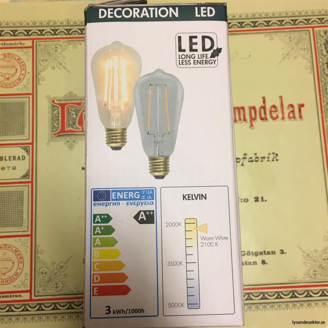 glödlampor LED koltråd filament varmt sken (18)