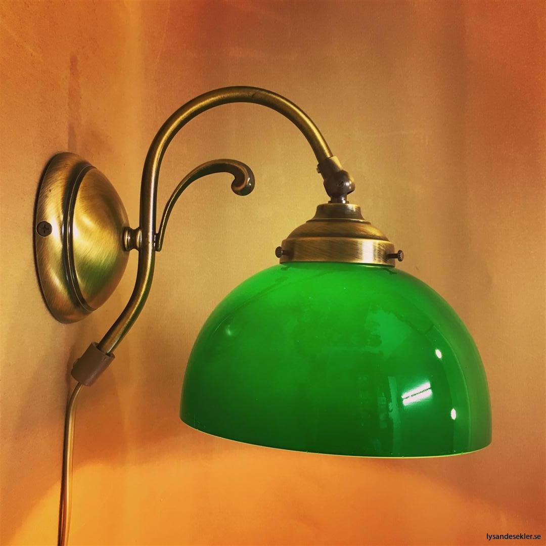 vägglampa jugend mässing elektrisk läslampa (14)