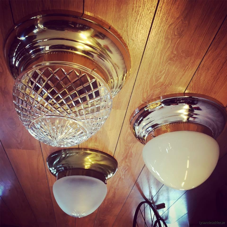 plafonder med ampelglas i tak
