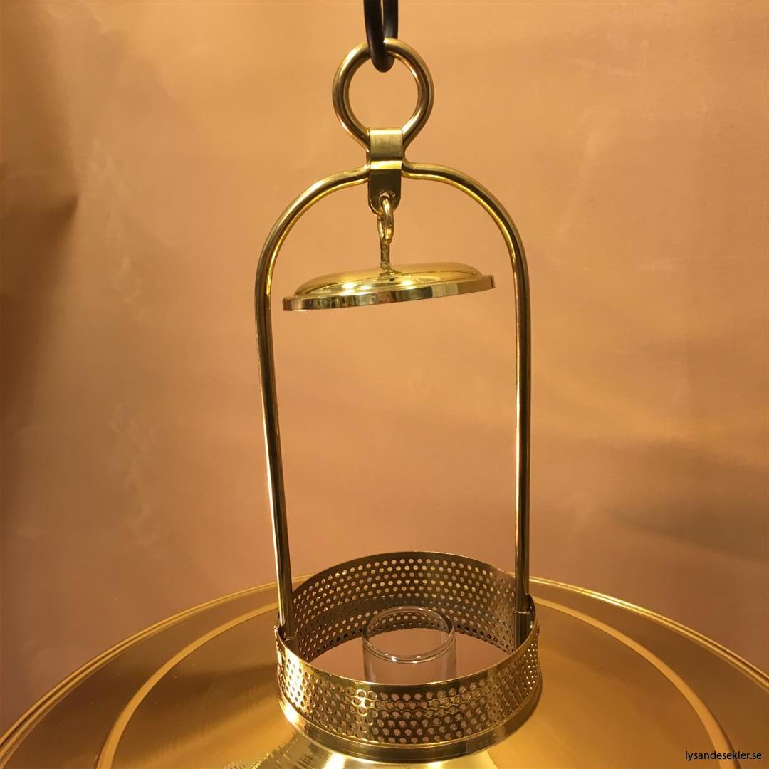 cabinlamp taklampa helt i mässing (7)