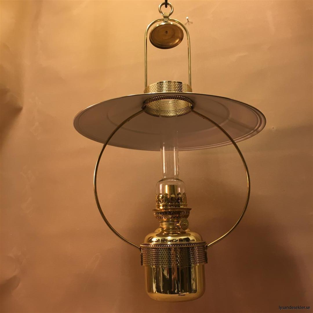 cabinlamp taklampa helt i mässing