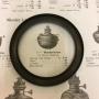 20''' kupring (yttermått: 85 mm) (Reservdelar till fotogenlampor) - 20''' kupring antikoxiderad mässing