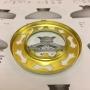 10''' kupring (yttermått: 70 - 85 mm) - 10''' - 70 mm kupring polerad mässing