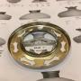 10''' kupring (yttermått: 70 - 85 mm)  (Reservdelar till fotogenlampor) - 10''' - 70 mm kupring förnicklad mässing