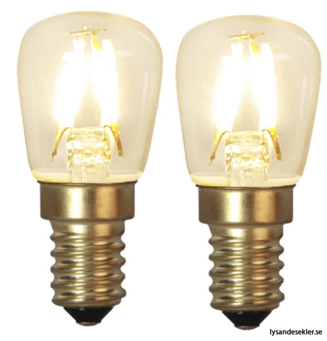 2-pack päron LED