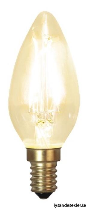 E14 kron glödlampa LED