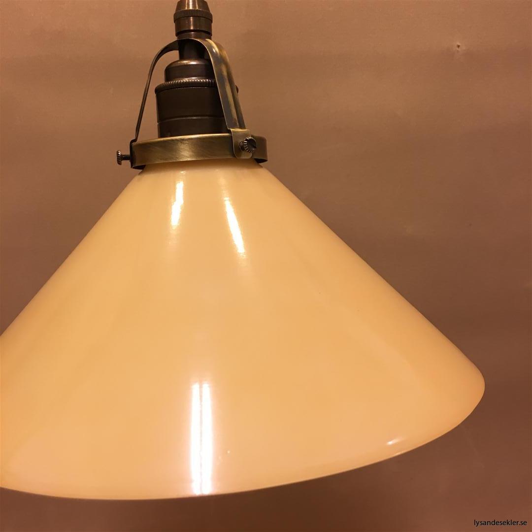gul skomakarlampa brun tygsladd