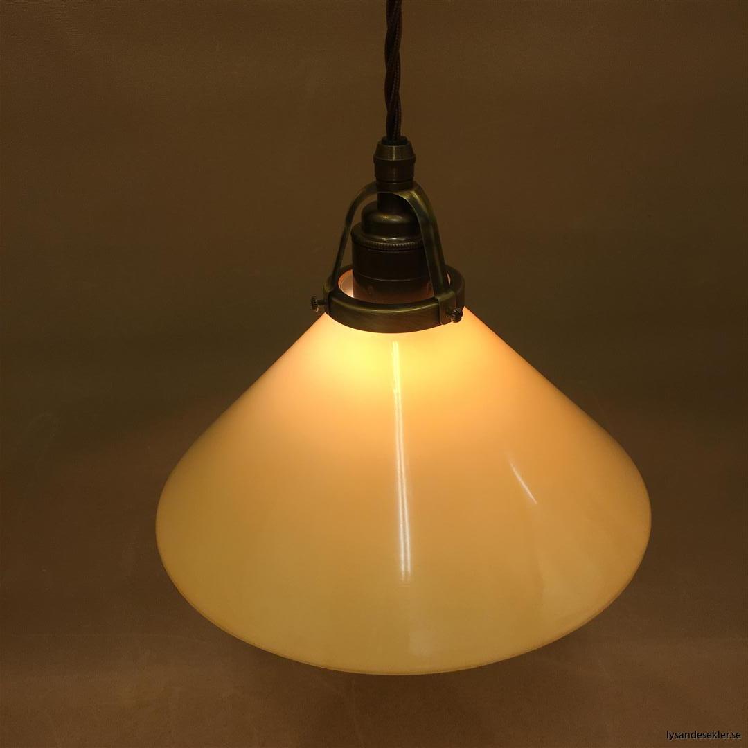 gul skomakarlampa brun tygsladd (4)