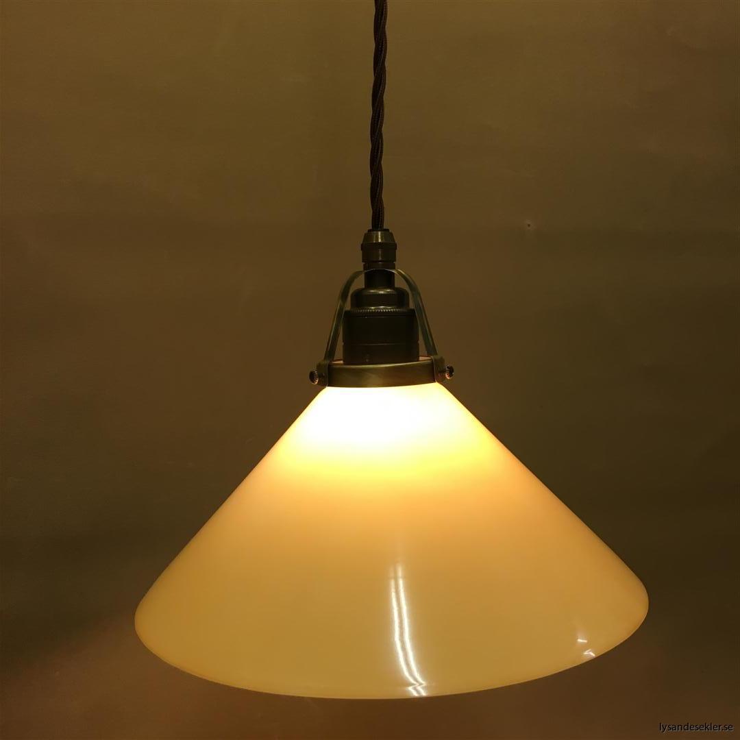 gul skomakarlampa brun tygsladd (3)