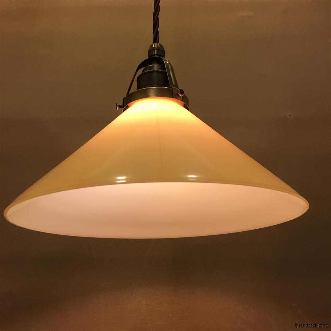gul skomakarlampa brun tygsladd (5)