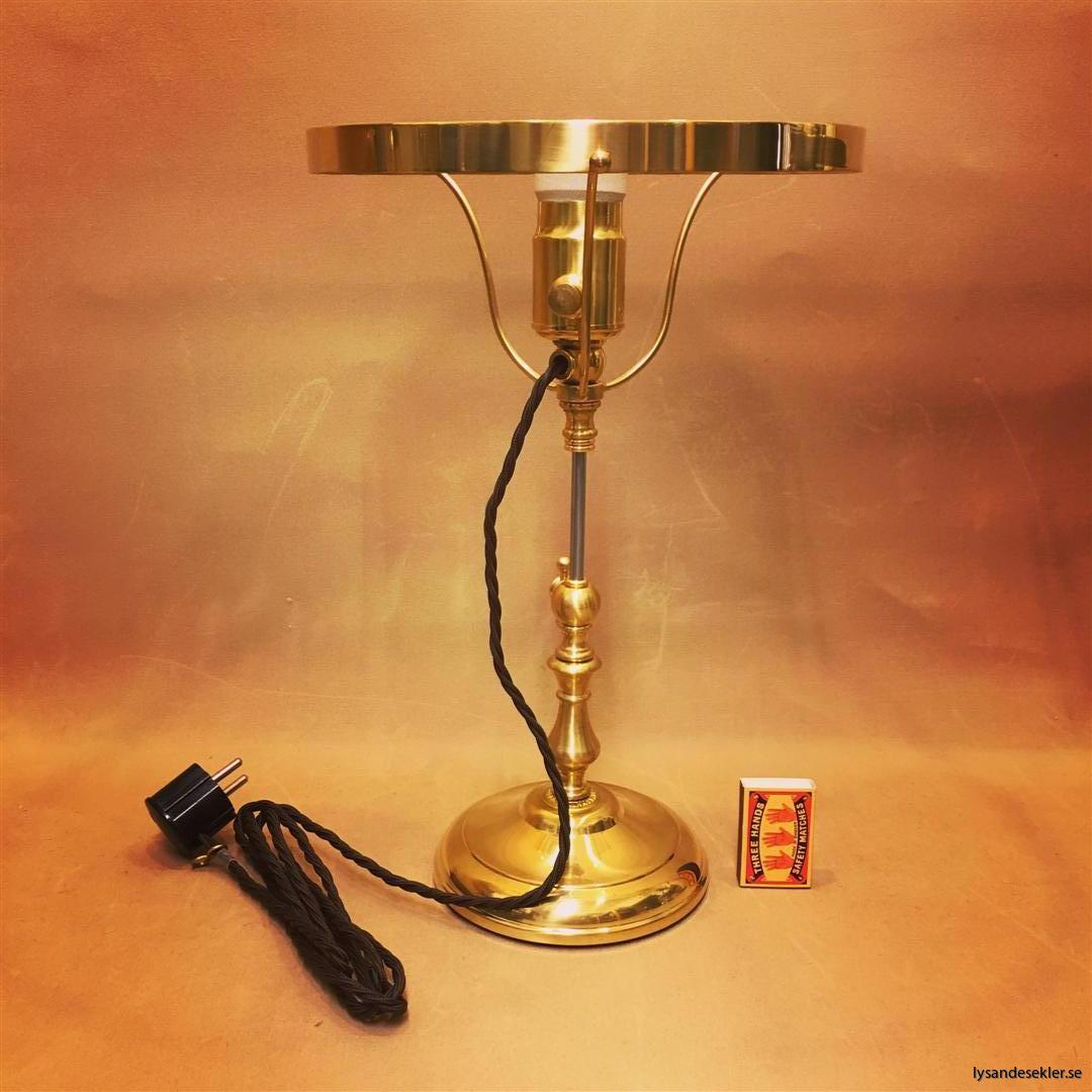 strindberg strindbergslampa mässing karlskrona lampfabrik 235 mm fahlcrantz (128)
