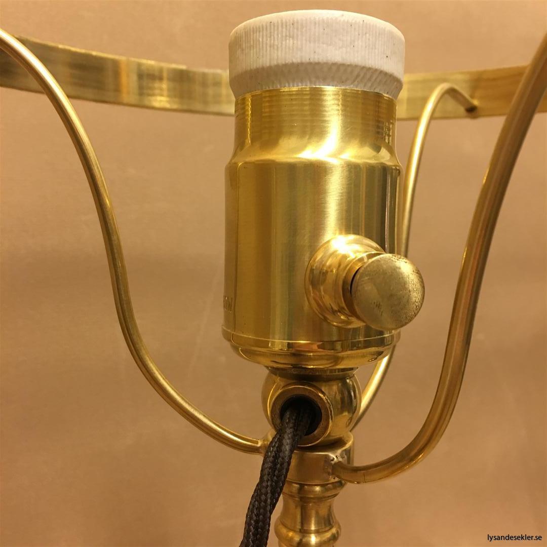 strindberg strindbergslampa mässing karlskrona lampfabrik 235 mm fahlcrantz (130)