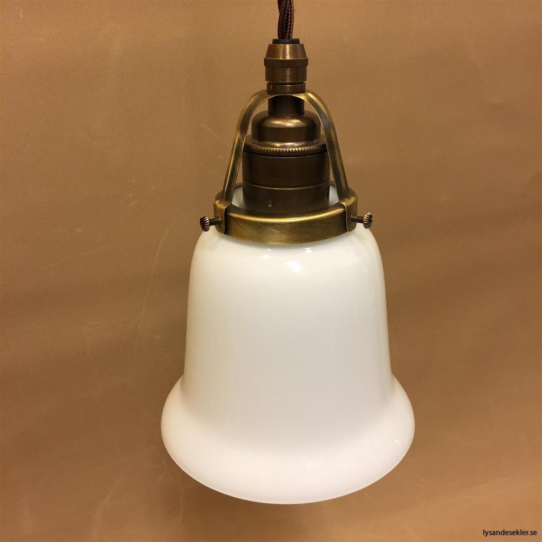 fönsterlampa tygsladd brun antik klofattning (28)