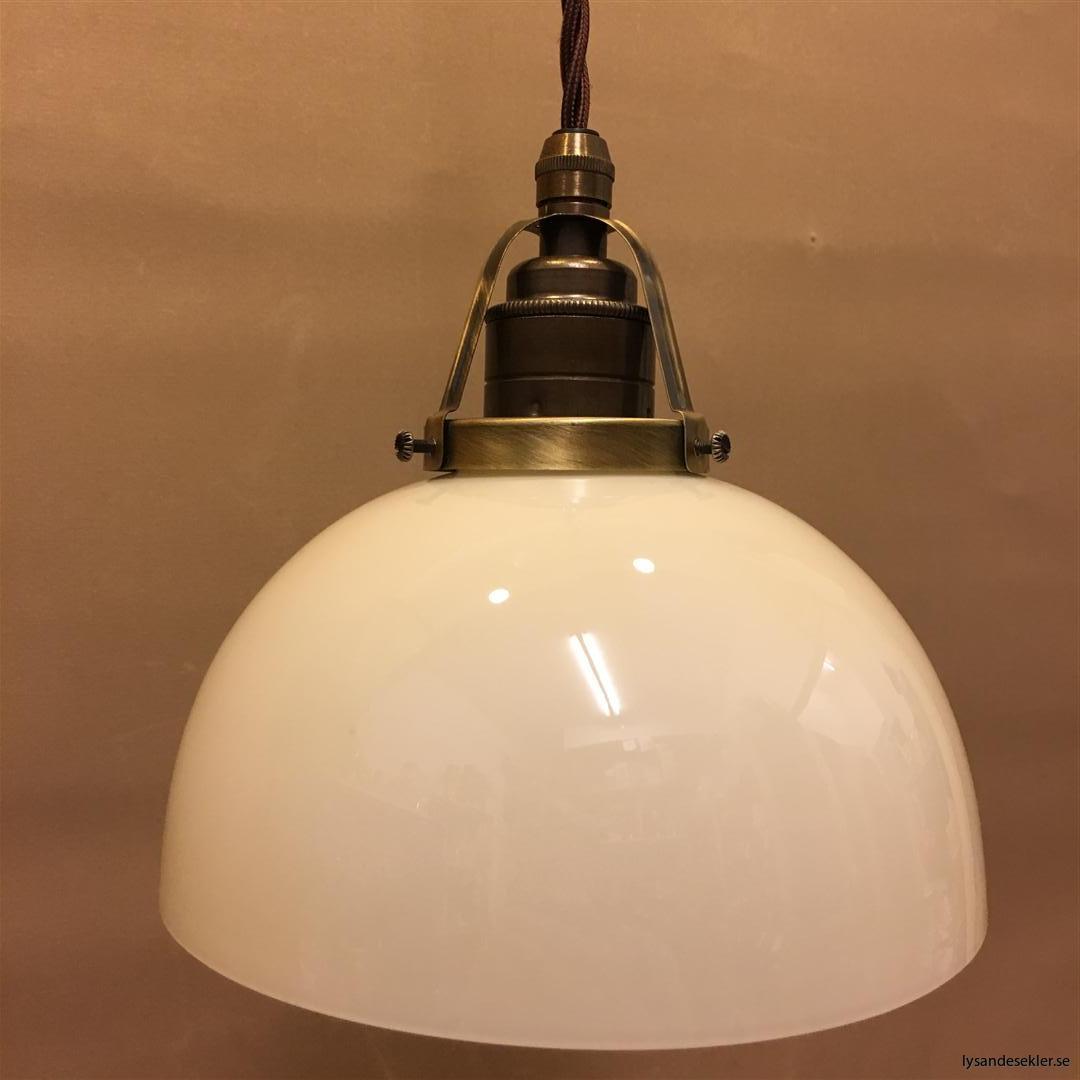 fönsterlampa tygsladd brun antik klofattning (3)