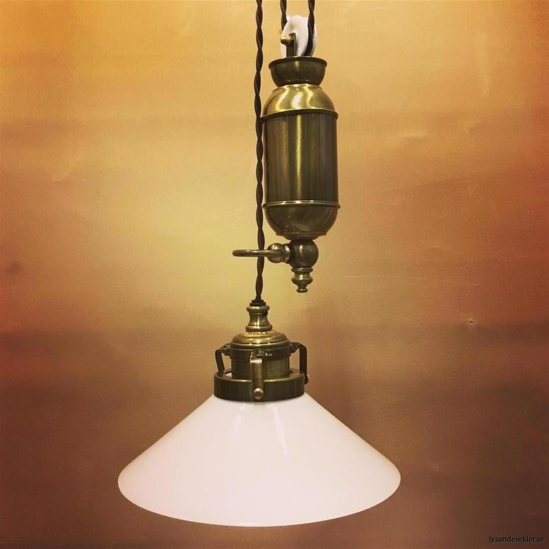 hisslampa elektrisk taklampa med hiss (136)