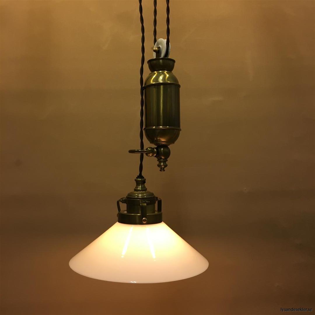 hisslampa elektrisk taklampa med hiss (140)