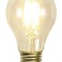 Antik/brun tygsladd med mörkgrön 25 cm skomakareskärm - TILLVAL: Glödlampa LED KOLTRÅD normal form E27