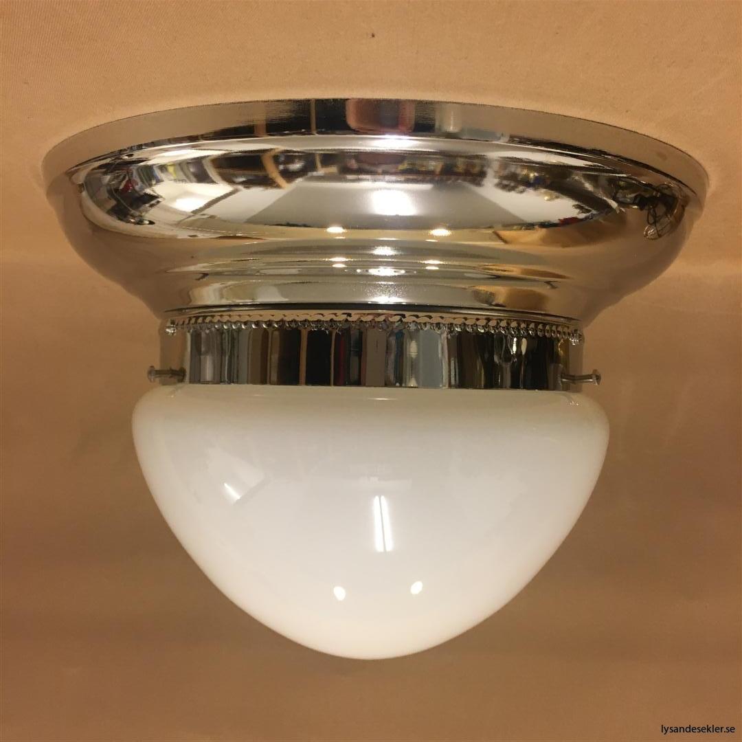 frödingplafond nickel nicklad plafond med ampelglas 200 mm (6)