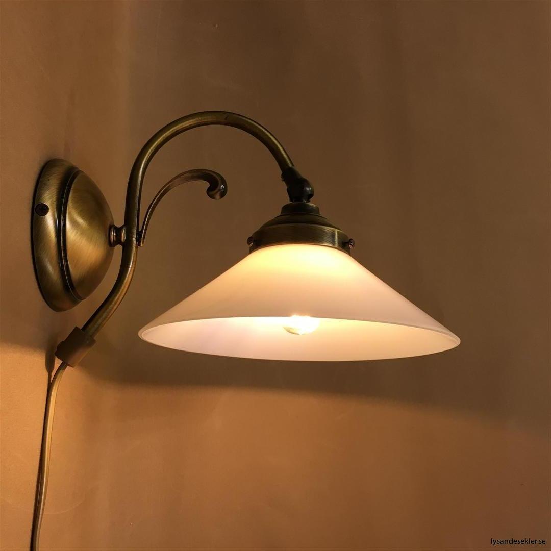 vägglampa jugend mässing elektrisk läslampa (46)