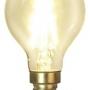Vägglampa jugend med liten opalvit skomakarskärm - Tillval: LED koltråd E14 litet klot glödlampa varmt sken