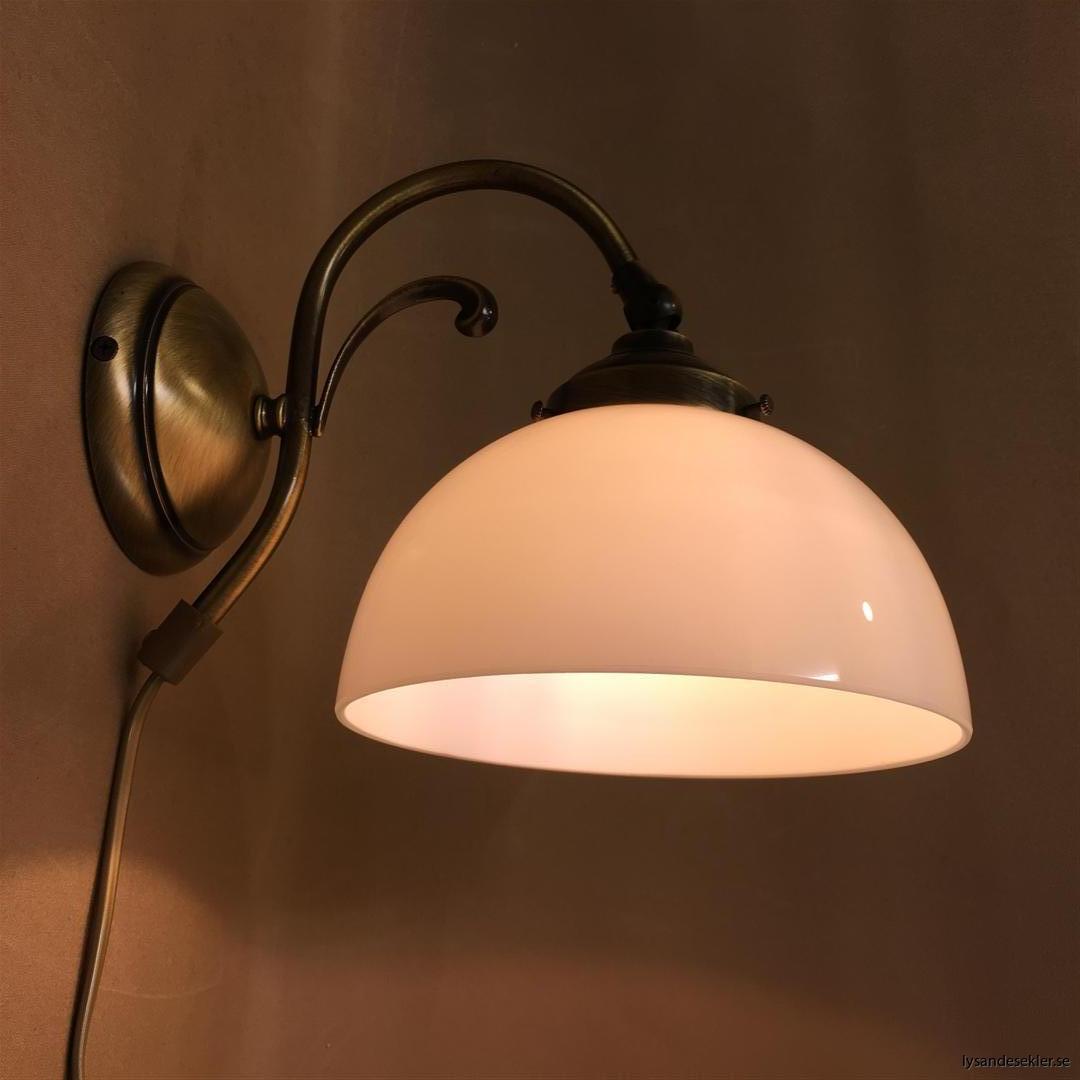vägglampa jugend mässing elektrisk läslampa (36)