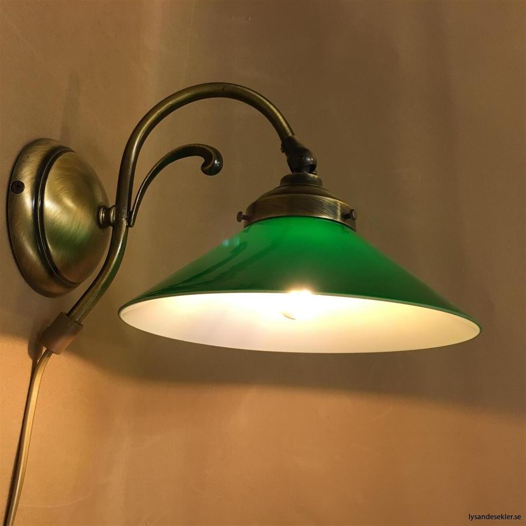 vägglampa jugend mässing elektrisk läslampa (24)