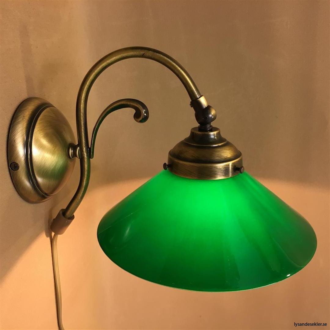 vägglampa jugend mässing elektrisk läslampa (23)