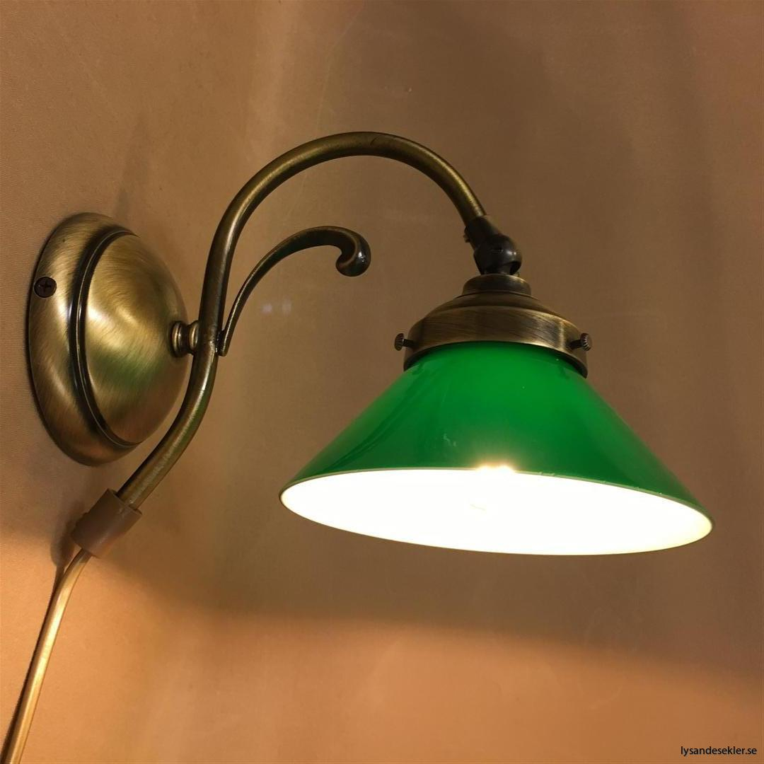 vägglampa jugend mässing elektrisk läslampa (32)