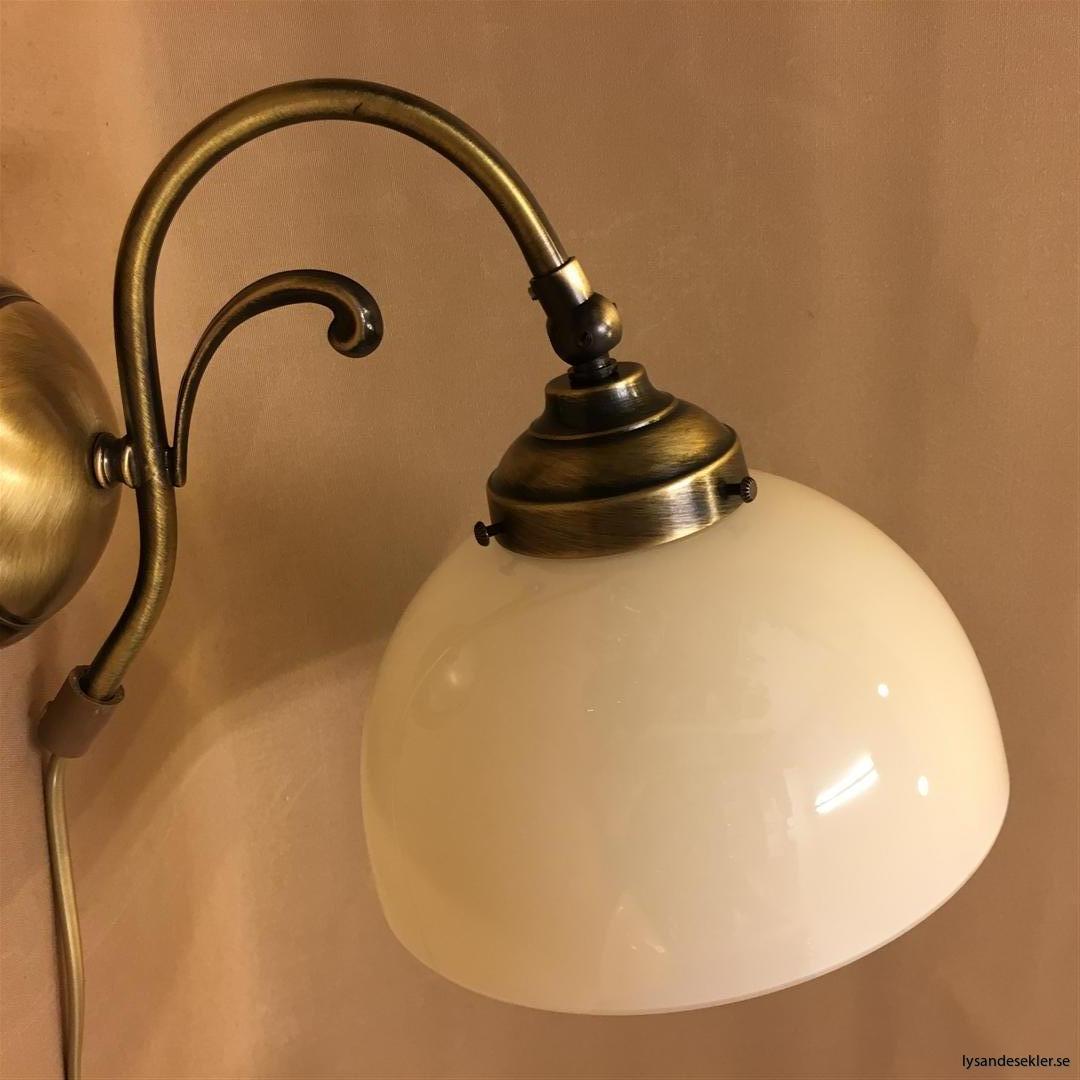 vägglampa jugend mässing elektrisk läslampa (3)