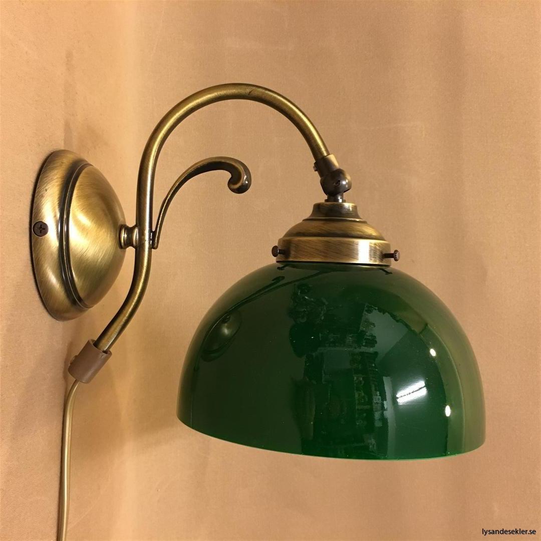 vägglampa jugend mässing elektrisk läslampa (12)