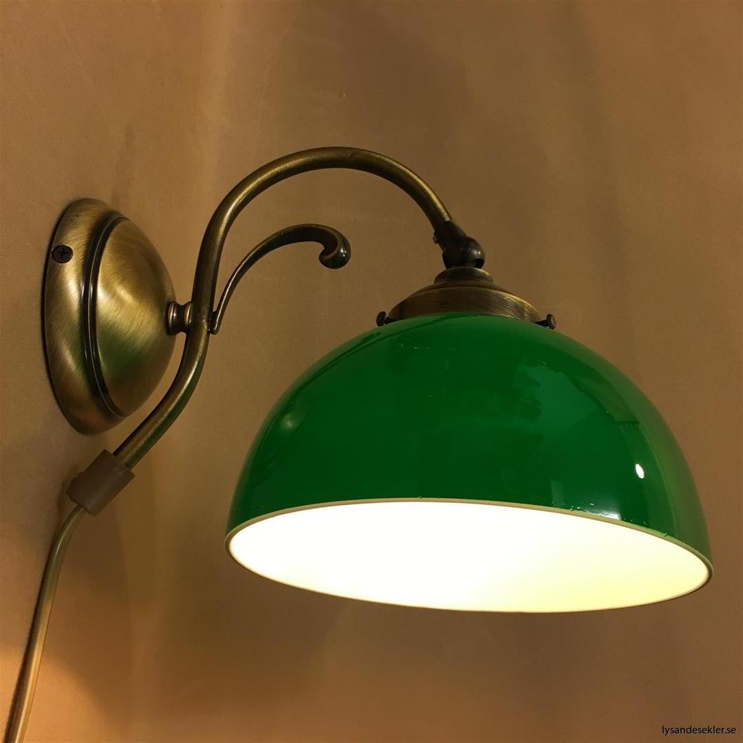 vägglampa jugend mässing elektrisk läslampa (16)