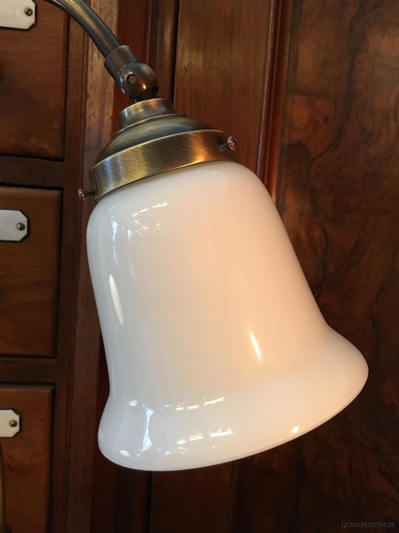 jugendlampa jugendlampan bordslampa mässing (36)