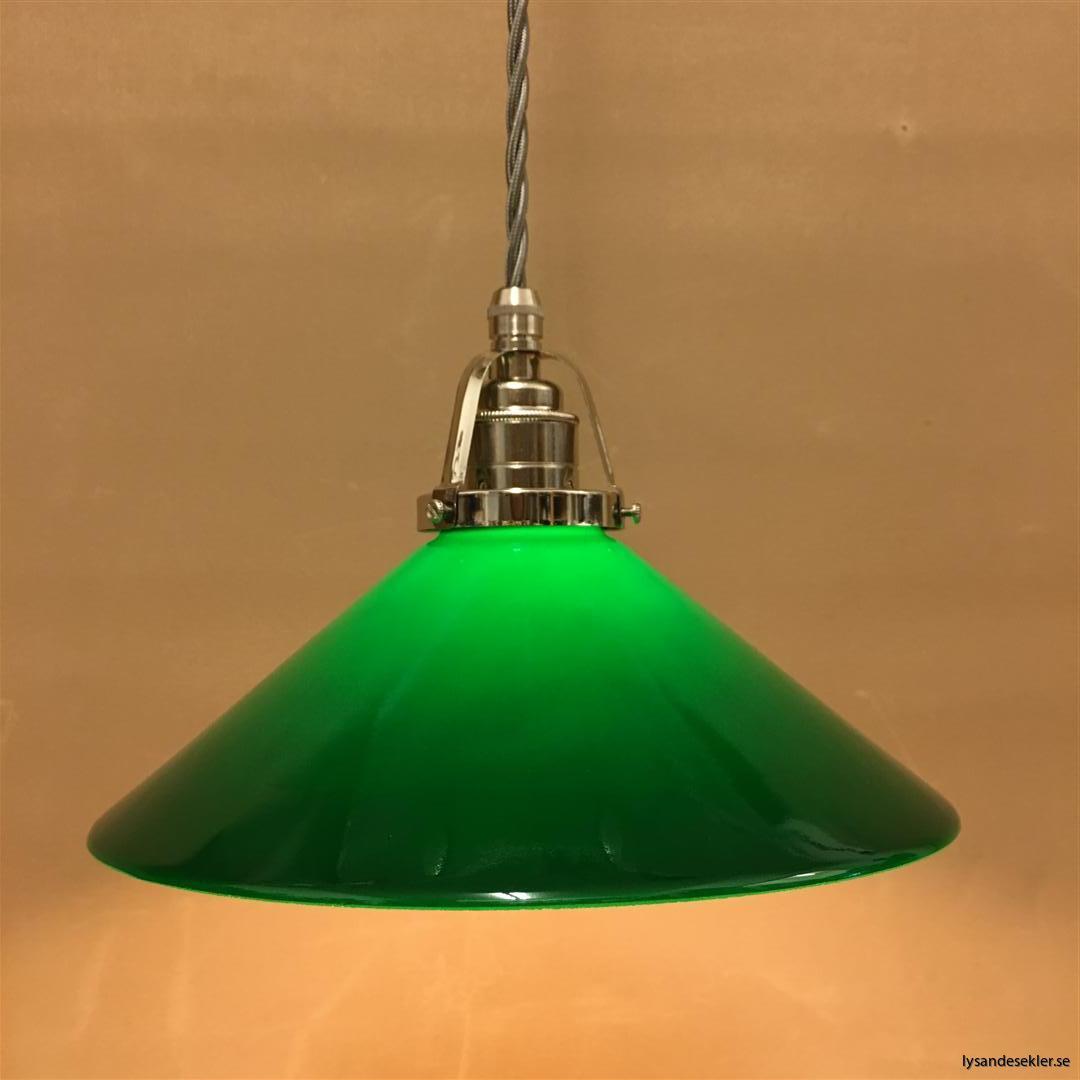 fönsterlampa i tygsladd nicklat fäste (9)