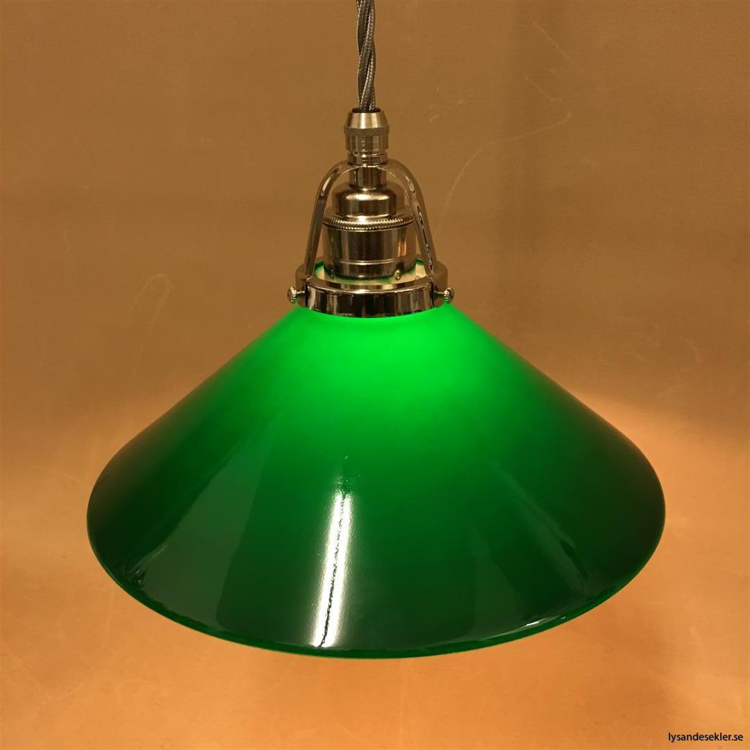 fönsterlampa i tygsladd nicklat fäste (10)