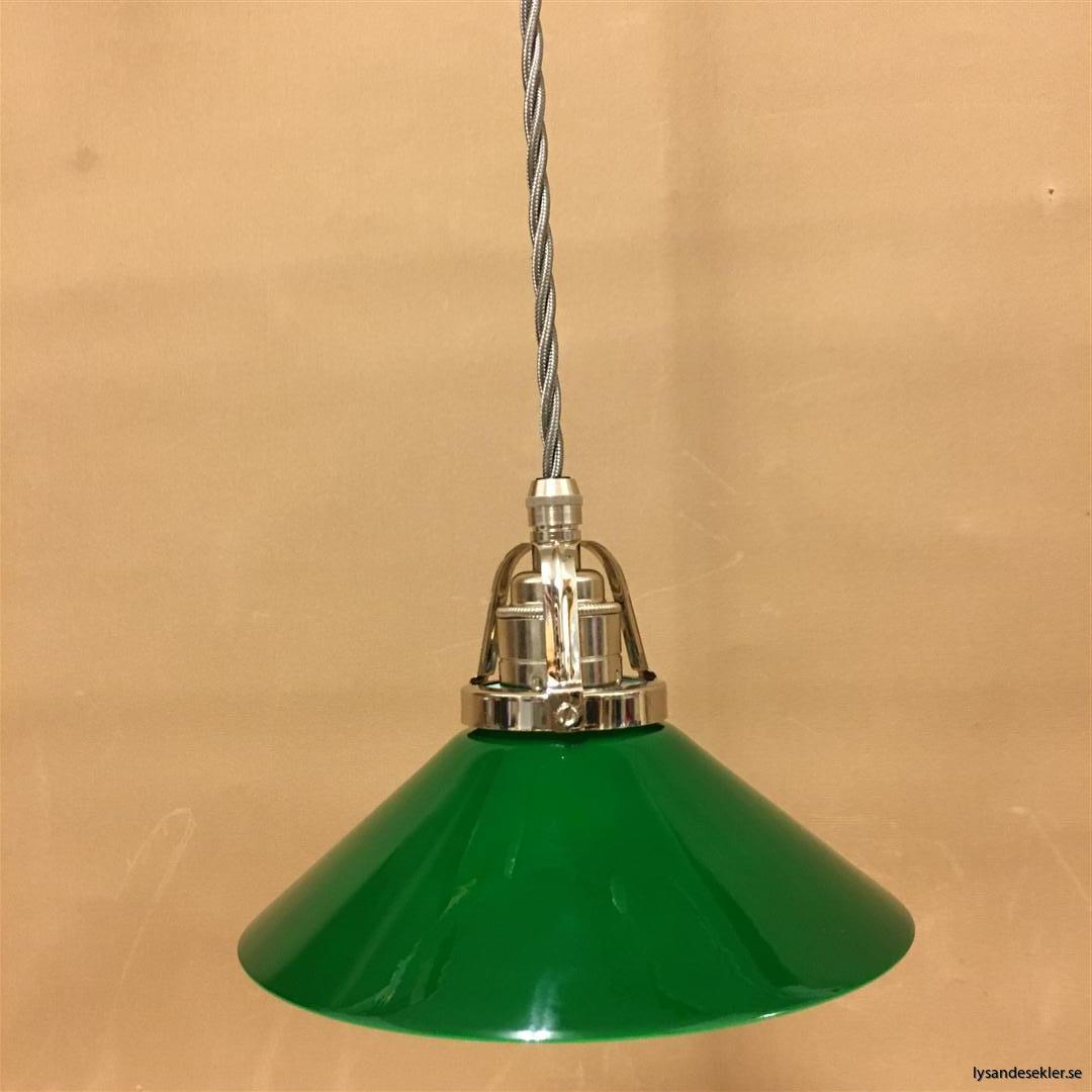 fönsterlampa i tygsladd nicklat fäste (14)
