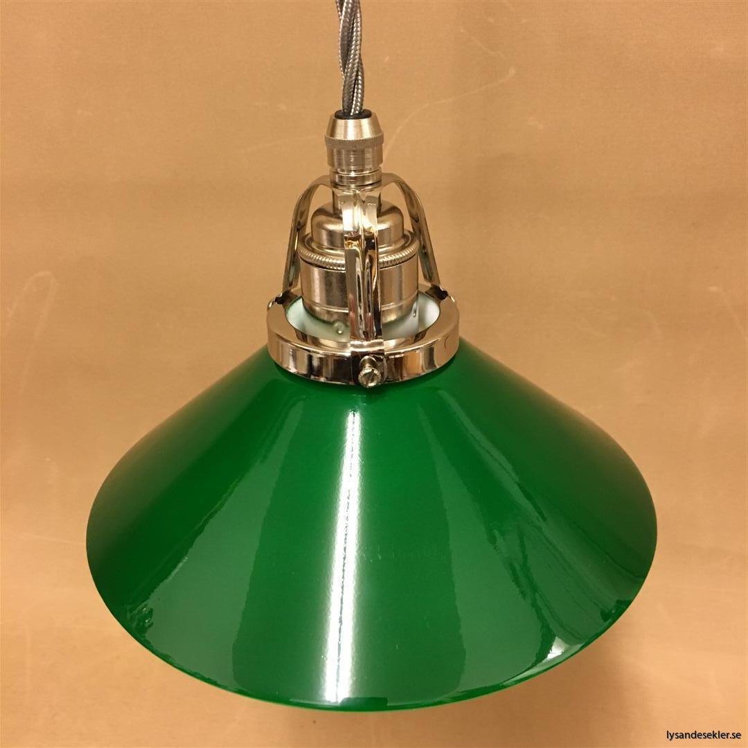 fönsterlampa i tygsladd nicklat fäste (15)