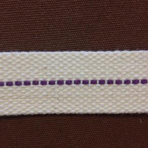 23 mm veke för flatbrännare (Veklängd: 25 cm) - 23 mm bred veke i bomull