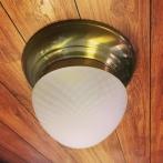 Taklampa ampelplafond optisk/antik 31 cm