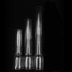 34 mm - Linjeglas 5''' / 6''' raka modeller (Glas till fotogenlampa)