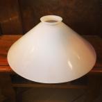 Skomakarskärm opalvit - Ø 25 cm