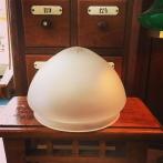 Skärm toppig frostad slipad (200 mm) - till Strindbergslampa