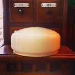 200 mm - Skärm vanilj mellan - till Strindbergslampa