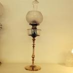 Otrolig fotogenlampa med sotskydd av glimmer (äldre)