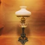 Hög bordslampa med Holmegaards vestaskärm (äldre)